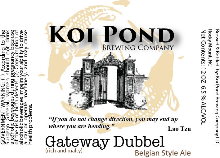 Gateway Dubbel Belgian Ale