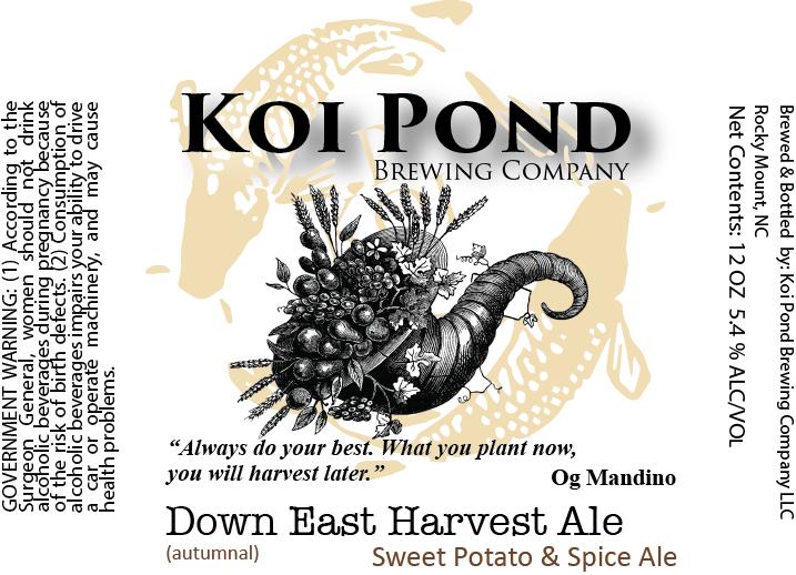 Down East Harvest Ale – SEASONAL