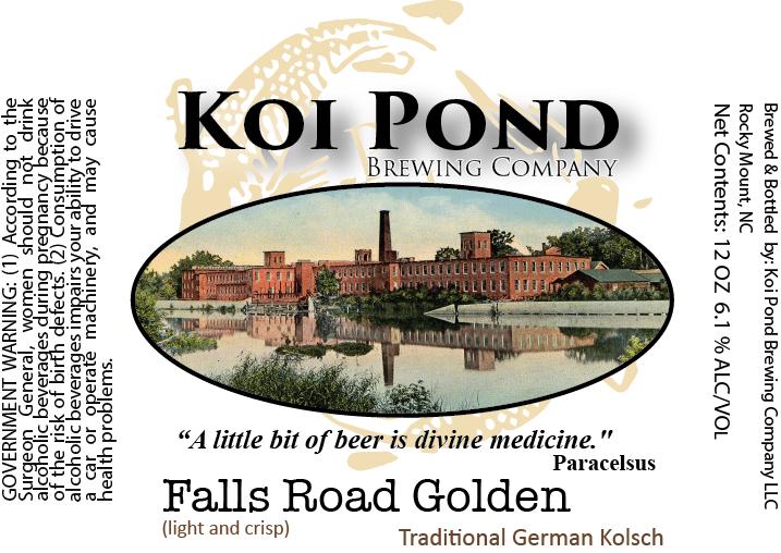 Falls Road Golden Kolsch