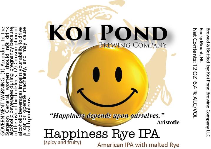 Happiness Rye IPA