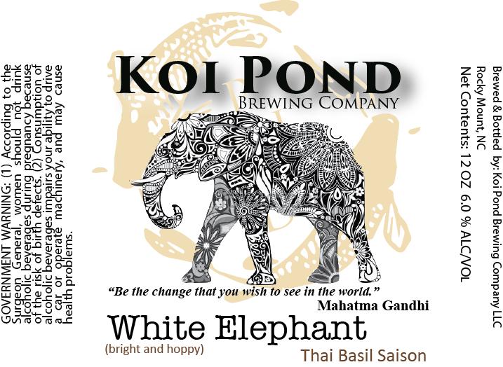 White Elephant Thai Basil Saison